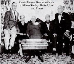 Carrie Camilla <I>Puryear</I> Kracke