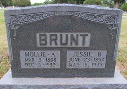 "Mary Amanda ""Mollie"" <I>Bennett</I> Brunt"