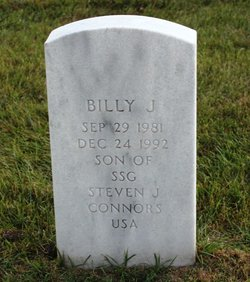 """William James """"Billy"""" Connors"""