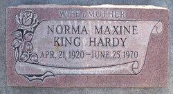 Norma Maxine <I>King</I> Hardy