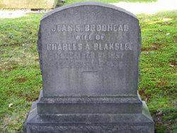 Jean Struthers <I>Brodhead</I> Blakslee