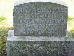 Ophelia <I>Blakslee</I> Hampson