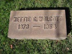 Nettie May <I>Gabriel</I> Wolcott