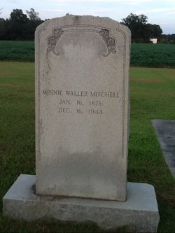 Minnie <I>Currie</I> Waller Mitchell
