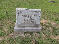 """Jefferson Washington """"Jeff"""" Henry"""