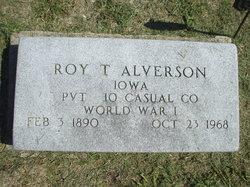 Roy T Alverson
