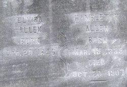 Elvira <I>Pyle</I> Allen