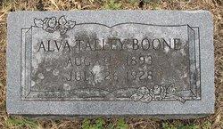 Alva Ruth Boone