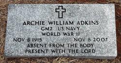 Archie William Adkins