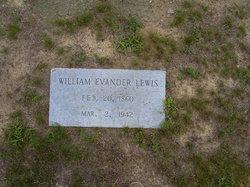 William Evander Lewis
