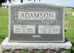 Zed Edward Adamson
