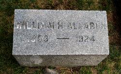 William Henry Allaben