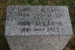 Orson McIntire Allaben