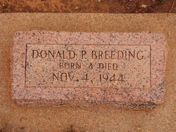 Donald P Breeding