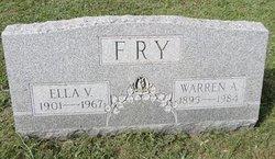 Ella V <I>Hollenback</I> Fry