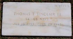 Thomas Theodore Sinclair, III