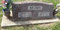 Merle A. Brown