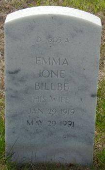 Emma Ione Billbe