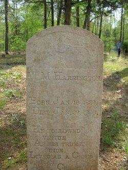 Pvt William M Harrington