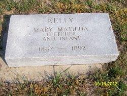 "Mary Matilda ""Mattie"" <I>Kelly</I> Fletcher"