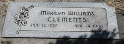 Marilyn <I>Williams</I> Clements
