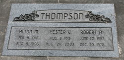 Alton M Thompson