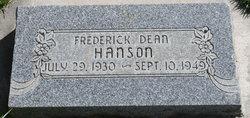 Fredrick Dean Hanson