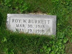 Roy W Burkett