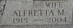 Alfretta M. <I>McIntire</I> Hunt