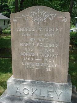 Mary Ella <I>Skillings</I> Ackley
