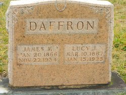 Lucy Jane <I>Twyford</I> Daffron