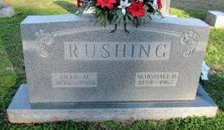 Marshall Dewey Rushing