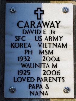 David E Caraway, Jr