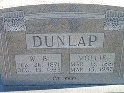 Mollie <I>Yearout</I> Dunlap