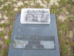 Claudia Bell <I>Clements</I> Bowen