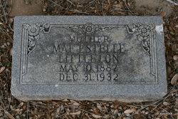 Mae Estelle <I>Williams</I> Littleton