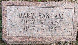Infant Son Basham