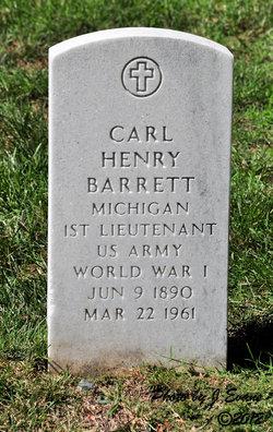 Carl Henry Barrett