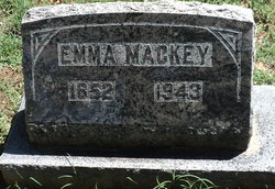 Emma <I>Warren</I> Mackey