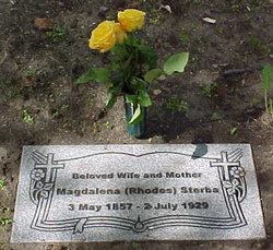 Magdalena <I>Rhodes</I> Sterba