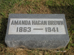 "Amanda Aurora Clare ""Mandy"" <I>Hagan</I> Brown"