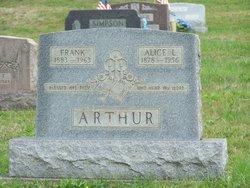 Alice L. <I>Dillinger</I> Arthur