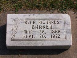 Rena Luella <I>Richards</I> Barker
