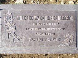 Mildred Wade <I>Burke</I> Bledsoe