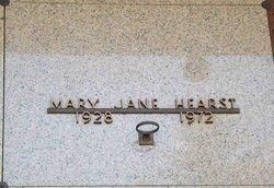 Mary Jane Hearst