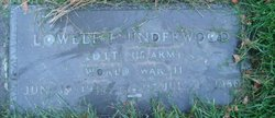 Lowell Forester Underwood