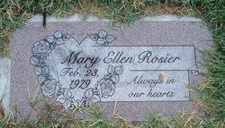 Mary Ellen Rosier