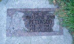 Matthew Sam Peterson