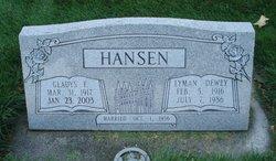 Lyman Dewey Hansen