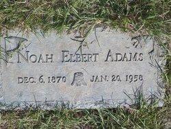 Noah Elbert Adams